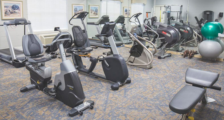 Summit Hills AL Fitness Room
