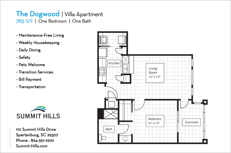 The Dogwood Villa Apartment
