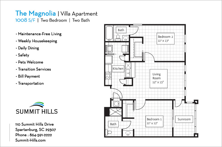 The Magnolia Villa Apartment
